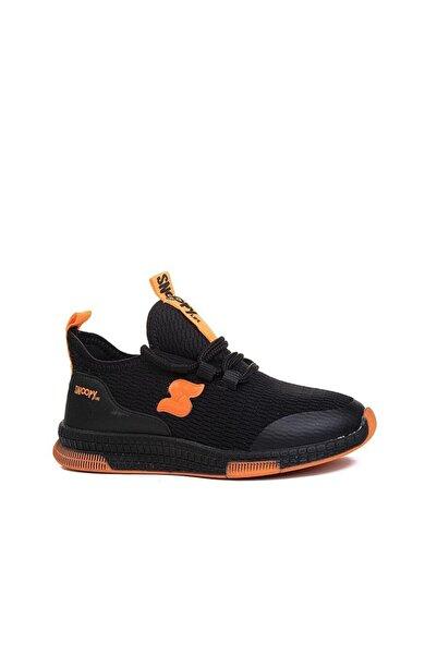 SNOOPY Unisex Çocuk Siyah Triko  Ayakkabı