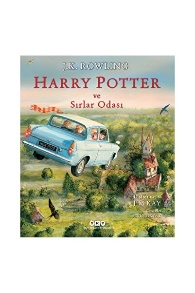 Yapı Kredi Yayınları Harry Potter Ve Sırlar Odası 2 - Resimli Özel Baskı - J. K. Rowling