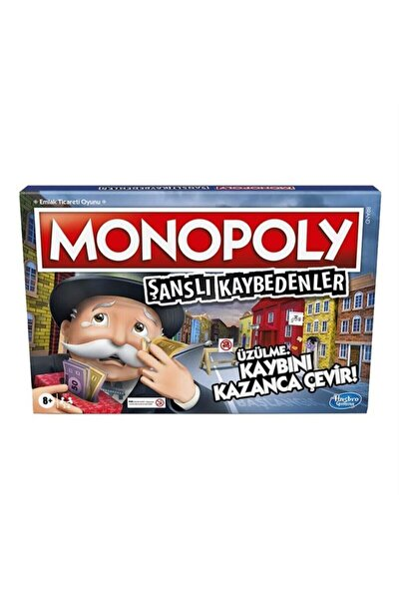Monopoly Şanslı Kaybedenler Oyun E9972