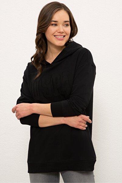 U.S. Polo Assn. Sıyah Kadın Sweatshirt G082SZ082.000.1210474