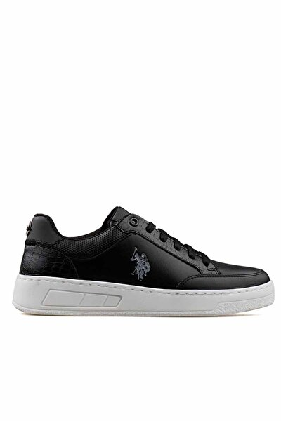 U.S. Polo Assn. SOLETA 1FX Siyah Kadın Havuz Taban Sneaker 100910756