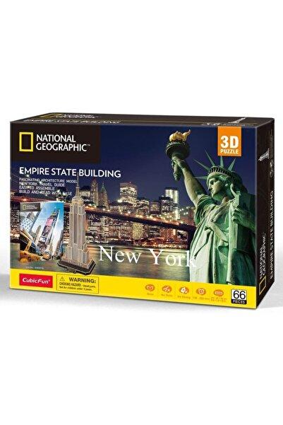 Cubic Fun National Geographic 66 Parça 3d Puzzle Empire State Binası