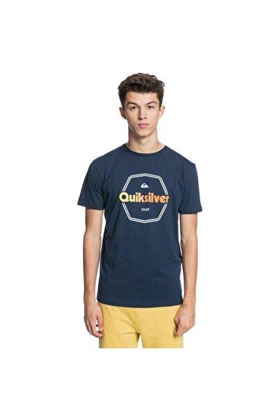 Quiksilver Erkek Lacivert Hard Wıred Ss T-Shirt
