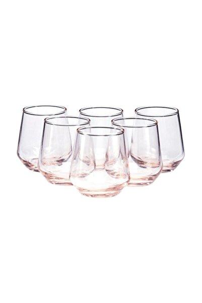 Paşabahçe Pembe Allegra 6'lı Kahve Yanı Su Bardağı 115 cc 420202