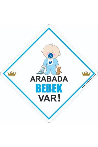 BUTİKPLAKA Arabada Bebek Var/ikaz/dikkat Bebek Var