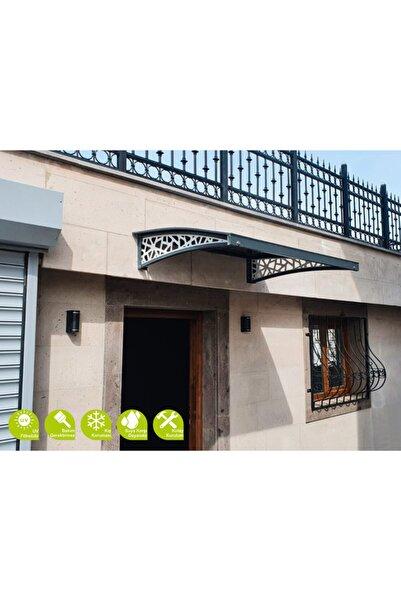 GARDENPLAST Alüminyum Kapı Üstü Pratik Sundurma 105x135 Cm