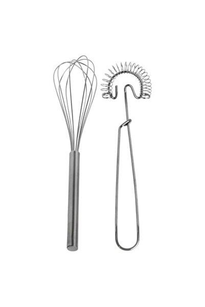 IKEA 2 Parça Paslanmaz Çelik Çırpıcı Meridyendukkan Pratik Mutfak Gereçleri