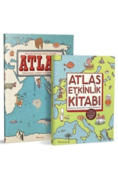 Domingo Yayınevi Atlas Set-yolculuk Rehberi+etkinlik Kitabı 2 Kitap