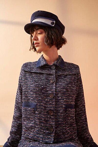 Ribellion Kadın Lacivert Ceket