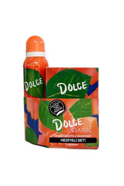 Dolce Classıc Edt 100 ml Kadın Parfüm + Deodorant Seti  8690644012044i