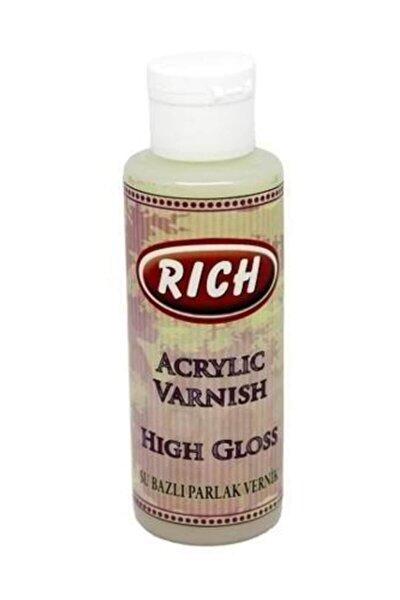 Rich Su Bazlı Vernik PARLAK (High Gloss Acrylic Varnish) 130 cc.