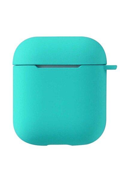 Sunix Airpods 2. Nesil Uyumlu Pastel Renkli Silikon Koruma Kopçalı Kılıf