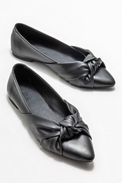Elle Shoes Kadın Siyah Babet