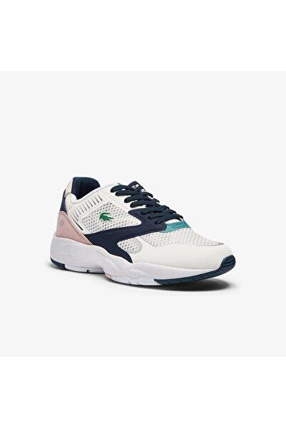 Lacoste Storm 96 Nano 09211Sfa Kadın Beyaz - Lacivert Sneaker 741SFA0022