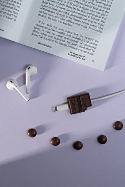 Silikonlu Çikolata Kablo Koruyucu