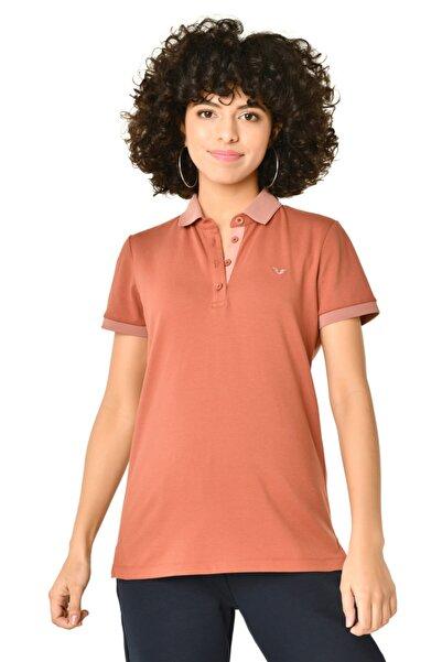 bilcee Kadın Toprak Polo Yaka Tshirt Hs-8719
