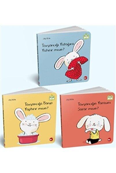 Beyaz Balina Yayınları Tavşancığa Banyo Yaptırır Mısın Tavşancığı Yatağına Yatırır Mısın Tavşancığın Yarasını Sarar Mısın?