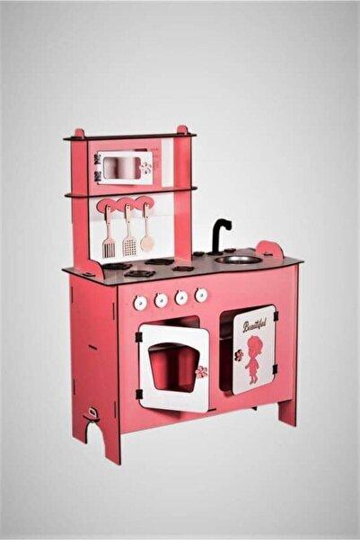 Sedatmobilyaa Ahşap Çocuk Oyuncak Mutfak Seti Büyük
