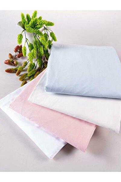 Doqu Home Cotton Tek Fitted Çarşaf Pudra
