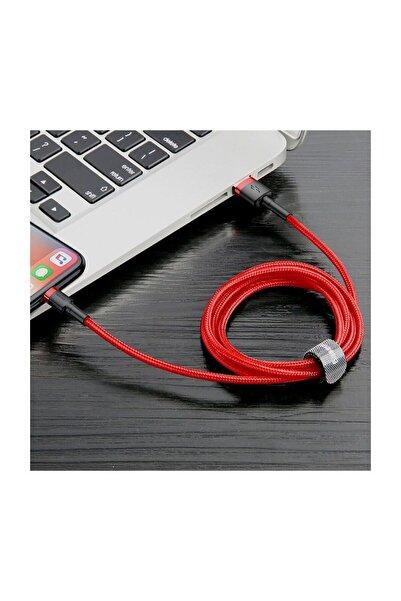 Baseus 2 Metre Cafule Serisi iPhone USB lightning Uyumlu Şarj ve Data Kablosu