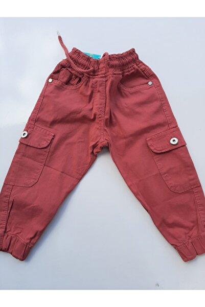 MaviMoure Kız Çocuk Kargo Cep Pantolon