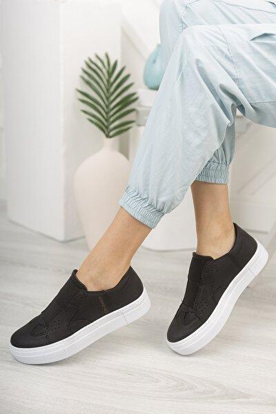 Chekich Ch033 Kadın Ayakkabı Siyah Beyaz