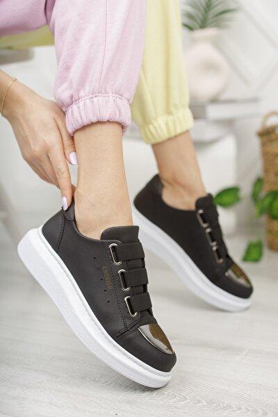 Chekich Ch251 Kadın Ayakkabı Siyah Beyaz