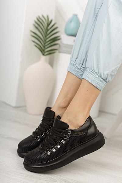 Chekich Ch021 Kadın Ayakkabı Siyah Siyah
