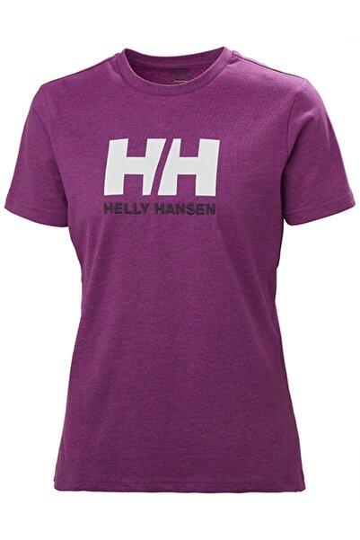 Helly Hansen Kadın Pembe Hh W Hh Logo T-shırt