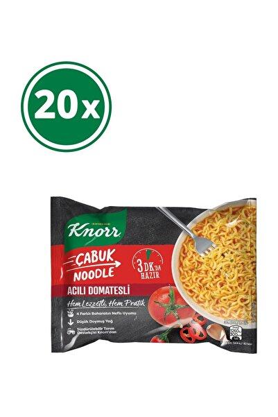Knorr Acılı Domatesli Çabuk Noodle 67 gr x 20 Adet