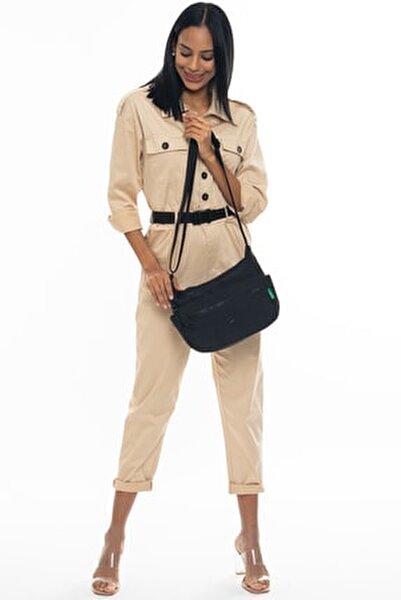 Siyah Kadın Postacı Çantası BNT221