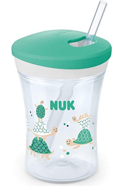 Nuk Green Turtle Yeni Action Cup Evo Damlatmaz Bardak 230 ml