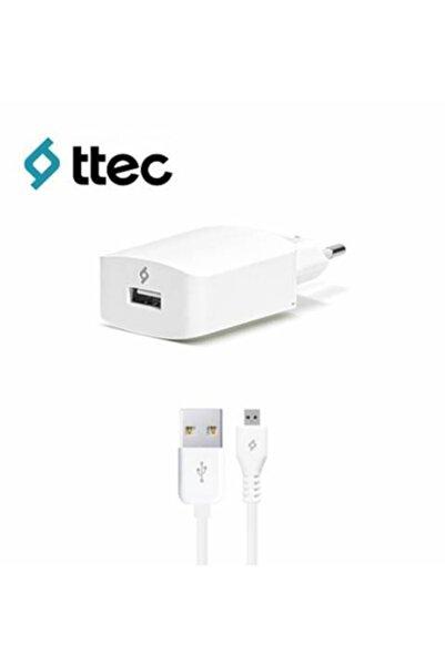 Ttec Speedcharger Serisi Micro Usb Kablolu 2.1a Seyahat Şarj Cihazı Beyaz