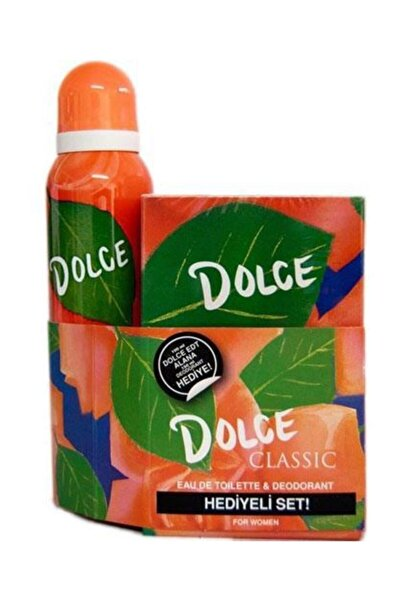 Dolce Classic Edt 100 ml + 150 ml Deodorant Kadın Parfüm Seti