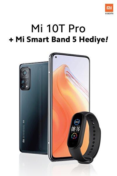 Xiaomi Mi 10T Pro 256GB Kozmik Siyah Akıllı Cep Telefonu + Mi Band 5 Hediye (Xiaomi Türkiye Garantili)