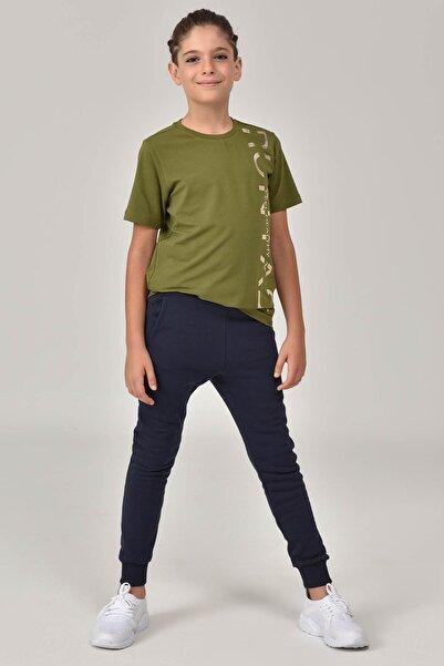 bilcee Yeşil Unisex Çocuk T-Shirt FW-1473
