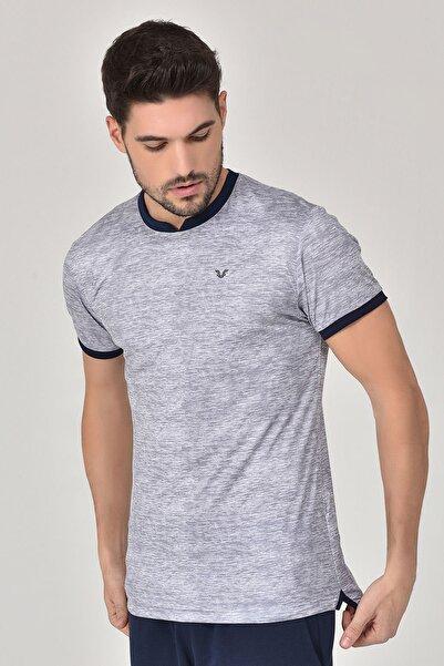 bilcee Gri Erkek T-shirt  GS-8840