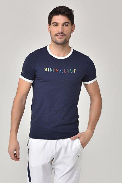 bilcee Lacivert Erkek T-shirt  GS-8250