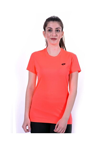 Lotto T-shirt Kadın Kısa Kollu Neon Pembe-zhero Tee W -r9599