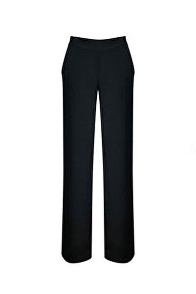 Önü Korsajlı Arkası Lastikli Bol Paça Pantolon Yeni Ürün 7496