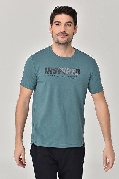bilcee Turkuaz Erkek T-shirt  GS-8809