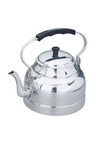 panayır 3 Litre Üstten Kulplu Saplu Alüminyum Çaydanlık, Kamp Çaydanlığı, Piknik Çaydanlığı, Tek Çaydanlık