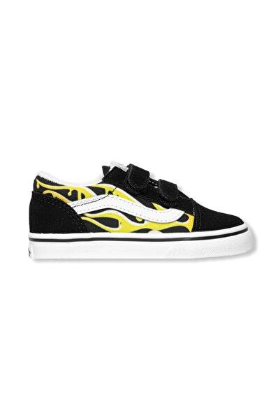 Vans Td Old Skool V Slime Flame Kız Çocuk Sneaker
