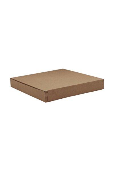 Unipak Bant Yapıştırmalı Pizza Kutusu 42x42x4 cm - Kraft 25 Adet