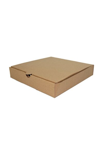 Unipak Pizza Kutusu 42x42x4 Cm - Kraft 25 Adet