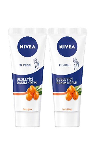 Nivea Deniz İğdesi Ve E Vitamini Besleyici Bakım El Kremi - 75 ml x 2
