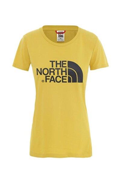 THE NORTH FACE The North Face Easy Kadın T-Shirt Sarı
