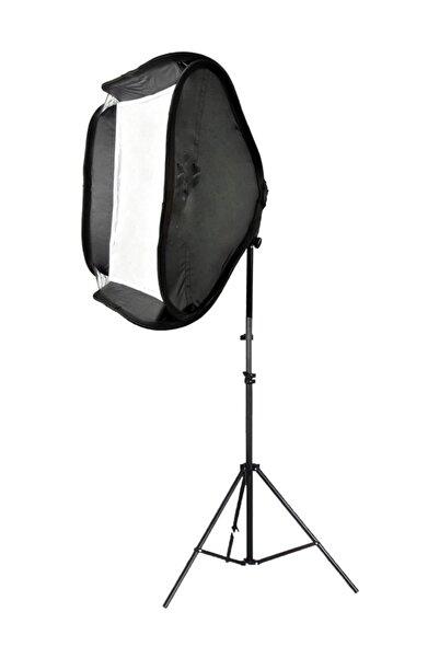 Deyatech Ayarlanabilir Stüdyo Fotoğraf Işığı Flaş Softbox
