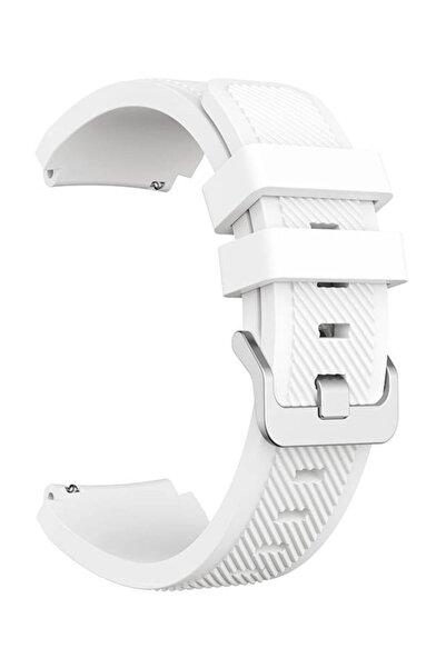 Robotekno Huawei Watch Gt Gt2 Kordon Kayış Akıllı Saat Kordonu - 46 mm - Beyaz