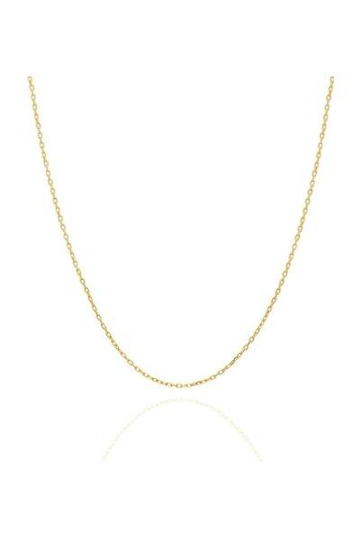PinkGoldStore Hayalet 14 Ayar Altın Zincir 42 cm